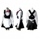 Supply Cool Black Lolita cosplay costume