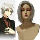 Supply Katekyo  Hitman Reborn Hayato Gokudera Halloween Cosplay Wig
