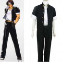 Supply King of Fighter 97 Kyo Kusanagi Halloween Cosplay Costume