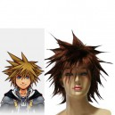 Supply Kingdom Hearts II Sora SPIKY Halloween Cosplay Wig