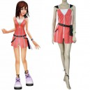 Supply Kingdom Hearts Kairi Pink Dress Halloween Cosplay Costume