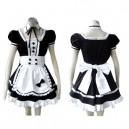 Supply Popular Black Gothic Lolita Halloween Cosplay Costume