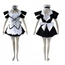 Supply Suitable Black Lolita cosplay costume