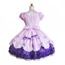 Cute Puff Sleeves Sweet Lolita Halloween Cosplay Dress
