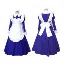 Haruhi Suzumiya Asahina Mikuru Maid Halloween Cosplay Lolita Halloween Cosplay Costu