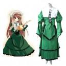 Rozen Maiden Jade Stern Lolita Halloween Cosplay Costume