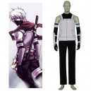 Black And White Naruto Anbu Halloween Cosplay Costume