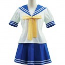 Supply Lucky Star Ryoo Academy Female Summer Uniform Halloween Cosplay