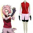 Supply Naruto Haruno Sakura Deluxe Halloween Cosplay Costume