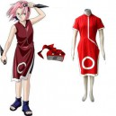 Supply Naruto Sakura Haruno Women's Halloween Cosplay Costume