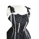 White Polka Dot Lolita Halloween Cosplay Dress