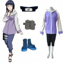 Supply Ideal Naruto Shippuden Hinata Hyuga Women's Halloween Cosplay Costume