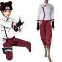 Naruto Shippuden Tenten Fan Art Halloween Cosplay Costume