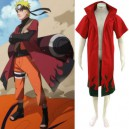 Supply Naruto Uzumaki Naruto Sage Red Halloween Cosplay Costume