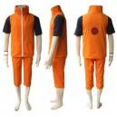 Unusual Naruto Shippuden Uzumaki Men's Halloween Cosplay Costume