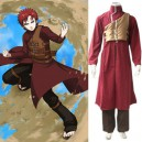 Cheap Naruto Shippuden Gaara Red Men's Halloween Cosplay Costume