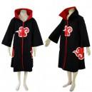 Classic Naruto Akatsuki Itachi Uchiha Deluxe Men's Halloween Cosplay Costume