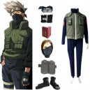 Supply Naruto Hatake Kakashi Deluxe Men's Halloween Cosplay Costume