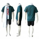 Naruto Hiruzen Sarutobi Uniform Cloth Halloween Cosplay Costume