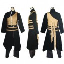 Naruto Shippuden Gaara Men's Halloween Cosplay Costume and Accessories Set