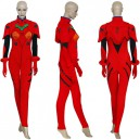 Neon Genesis Evangelion Asuka Plugsuit Halloween Cosplay Costume