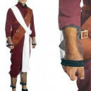 Superior Naruto Shippuden Gaara Red Men's Halloween Cosplay Costume