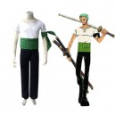 Supply One Piece Roronoa Zoro Halloween Cosplay Costume