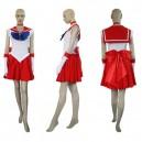 Sailor Moon Sailor Mars Raye Hino Halloween Cosplay Costume