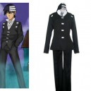 Supply Soul Eater Death the Kid Cosplay Costume-Halloween