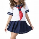 Supply Short Sleeves School Halloween Uniform Cosplay Costume