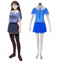 Supply Azumanga Daioh Shool Uniform Summer Halloween Cosplay Costume