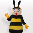 Supply Bee Short Plush Adult Mascot Costume