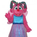 Supply Butterfly Girl Short Plush Adult Mascot Costume