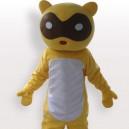 Classic Raccoon Short Plush Adult Mascot Costume