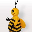 Little Yellow Bee Adult Mascot Costume
