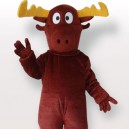 Supply Reindeer Adult Mascot Costume