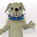 Supply Big Dog with Collar Adult Mascot Costume