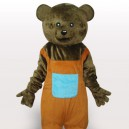 Supply Brown Teddy Adult Mascot Costume