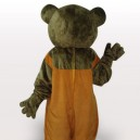 Brown Teddy Adult Mascot Costume