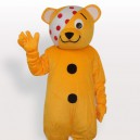 Supply Clown Bear Short Plush Adult Mascot Costume