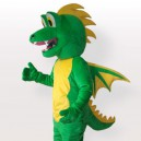 Supply Green Stegosaurus Adult Mascot Costume