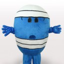 Supply Mr Wrestling Short Plush Adult Mascot Costume