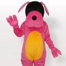 Supply Pink Dog Adult Mascot Costume