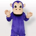 Supply Purple Gorilla Adult Mascot Costume