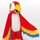 Supply Red Parrot Adult Mascot Costume