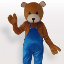 Teddy Bear Short Plush Adult Mascot Costume