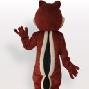Two Tooth Squirrel Short Plush Adult Mascot Costume