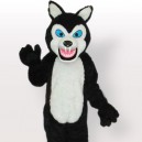 Supply Classic Black Wolf Adult Mascot Costume