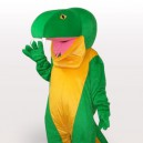 Supply Green Snake Short Plush Adult Mascot Costume