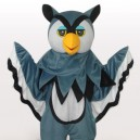 Supply Grey Eagle Short Plush Adult Mascot Costume